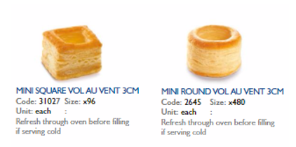 range of pastries available at Arthur David